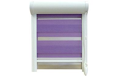 Textilní roletka COLLETE - fialová