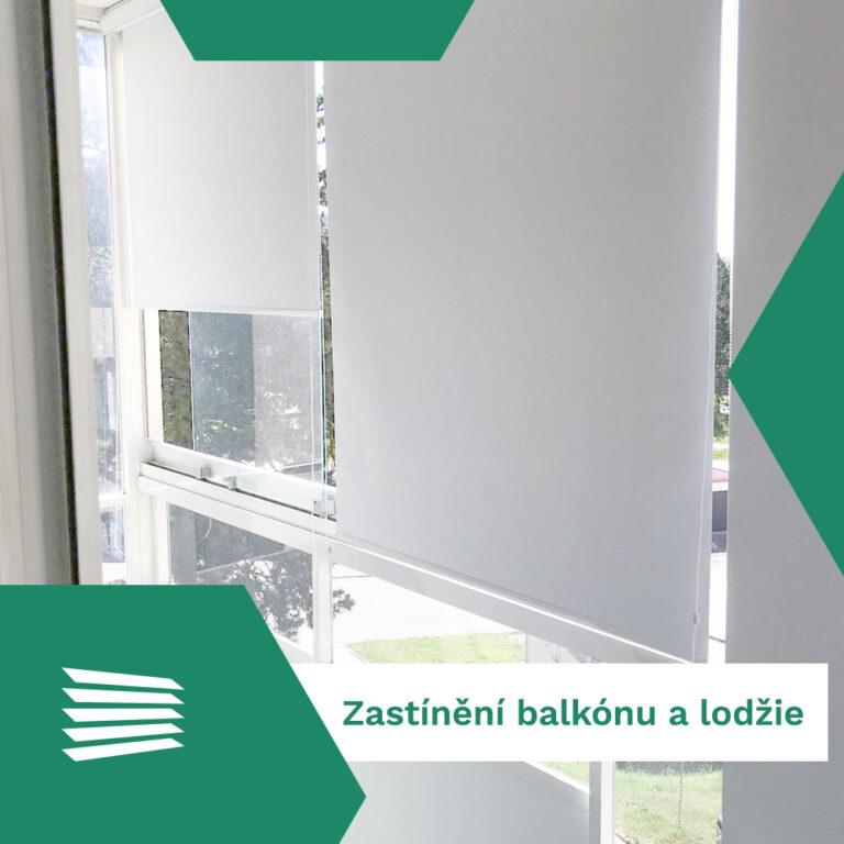 Zastínění balkónu a lodžie